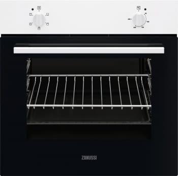 Horno Blanco Zanussi ZOHNB0W1 de 59 cm | 56L | +4 Funciones | Clase A