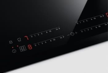 Placa Inducción Electrolux EIV83446 de 80 cm con 4 Zonas Max 32 cm Función Puente, Hob2Hood - 6