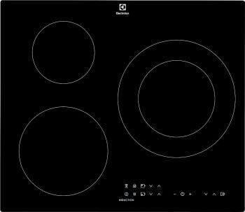 Placa de Inducción Electrolux LIT60336C de 60 cm con 3 zonas Max 28 cm, Sin marco, PowerBoost, Placa-Campana Hob2Hood