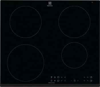 Placa de Inducción Electrolux LIT6043 de 60 cm con 4 Zonas de cocción Infinite, PowerBoost, Placa-Campana Hob2Hood