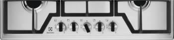 Placa de Gas Electrolux KGS7536X de 75 cm con 5 Quemadores SpeedBurner, 1 Wok - 2