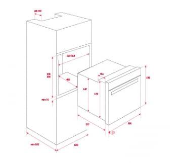 Horno Teka HSB 610 de 60 cm A+ Blanco con 6 funciones de cocción a 5 alturas | Stock - 2