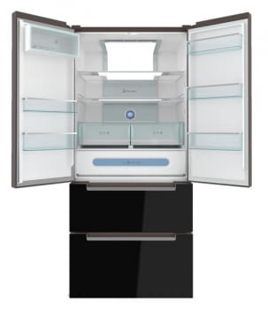 TEKA RFD 77820 SIDE BY SIDE FRENCH DOOR GOURMET 4 PUERTAS NEGRO