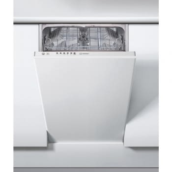 INDESIT DSIE 2B10 LAVAVAJILLAS INTEGRABLE 45CM 10SERVICIOS 51dB A+