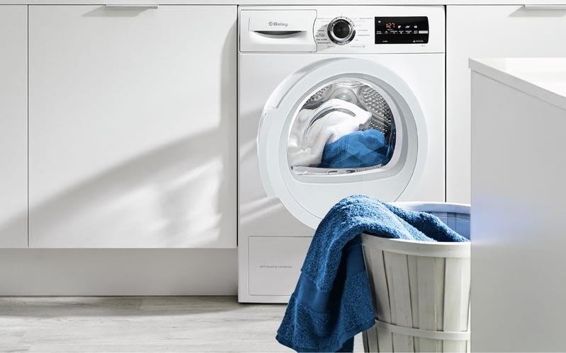secadora con sensor de humedad