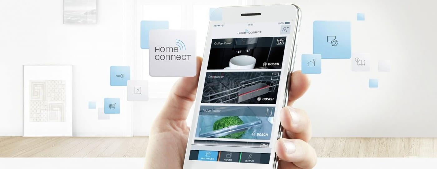 Aplicación Home Connect en móvil