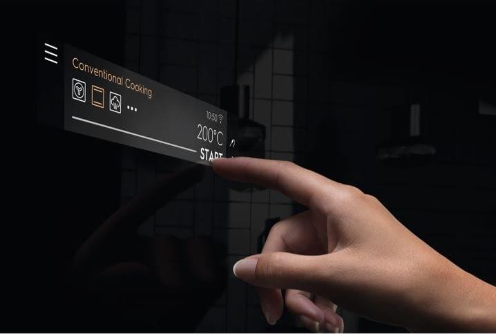pantalla tactil LED