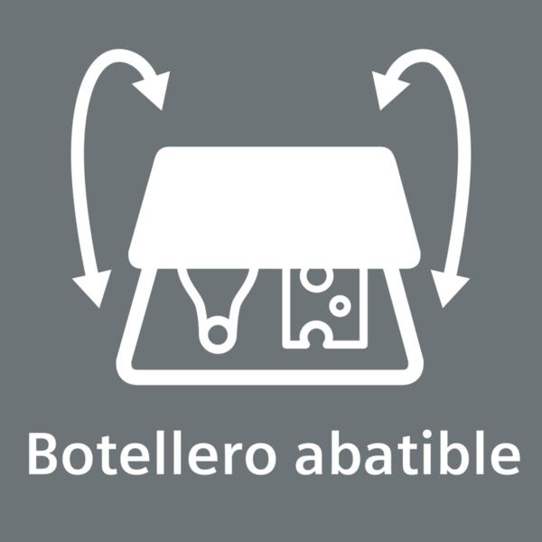 Botellero abatible
