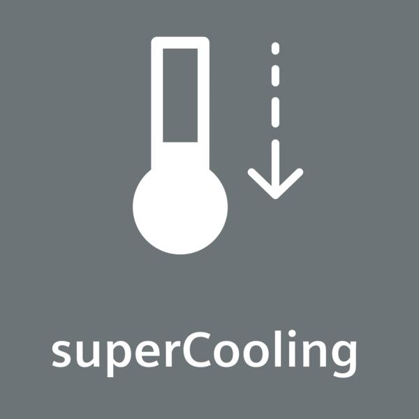 Función de refrigeración Super