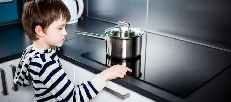 Bloqueo de seguridad para niños de las placas Siemens