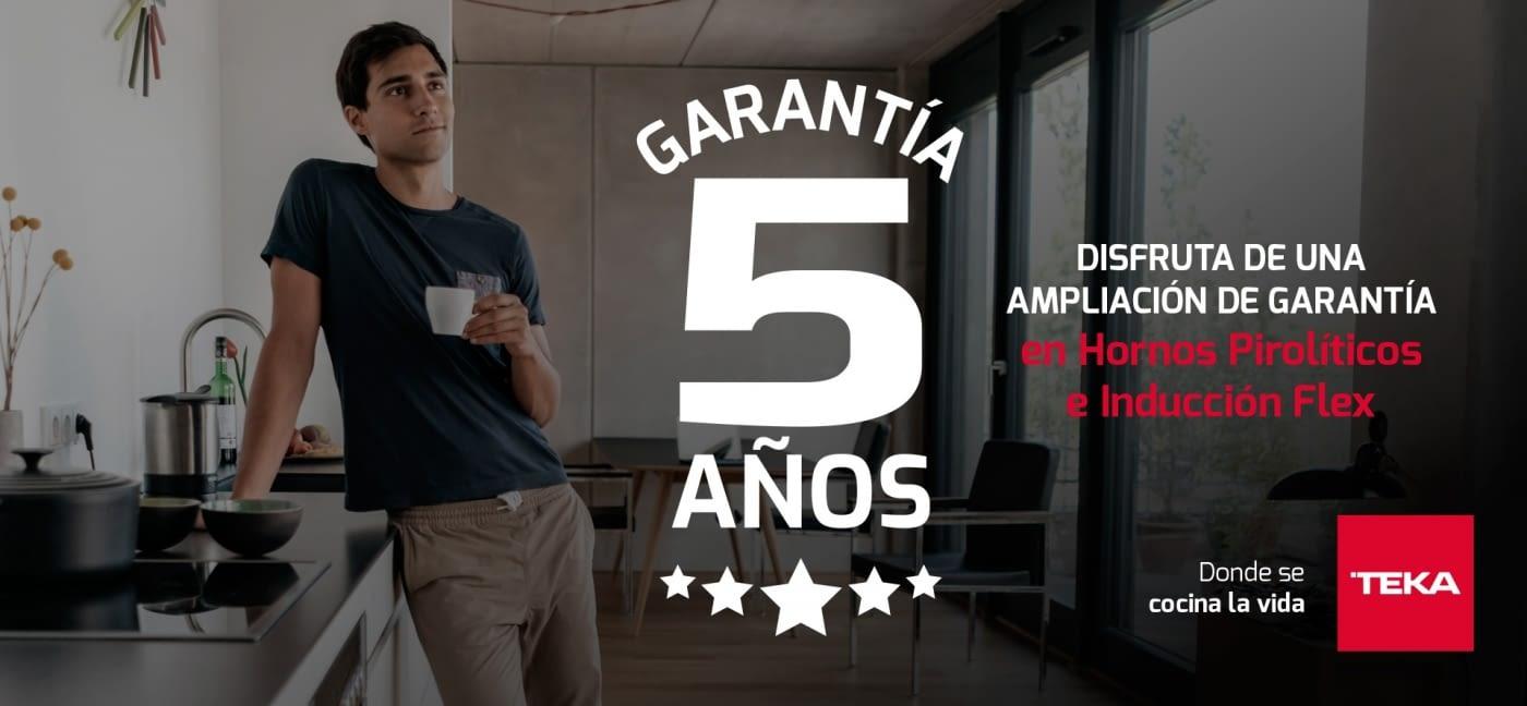 Banner Promoción Teka 5 años garantía