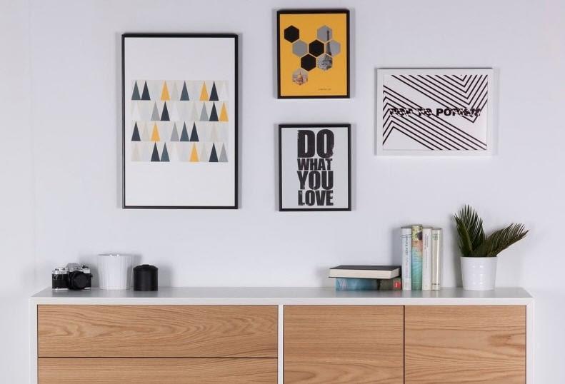 Cuadros para composiciones decorativas