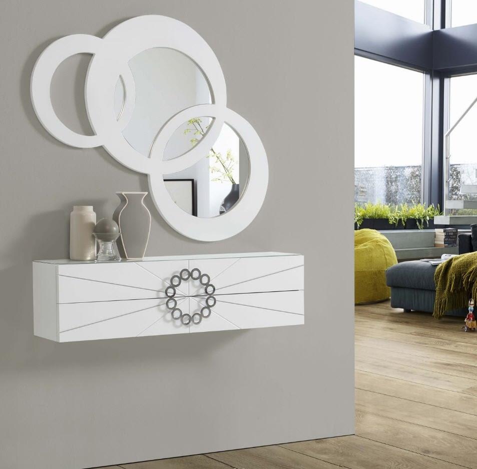 Decoración con espejos, lo último en decoración para recibidores