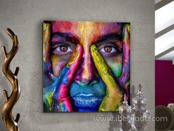 Fotografía  Colores (100x100)