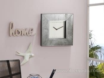 Reloj de pared Aurora Cuadrado (26x26)