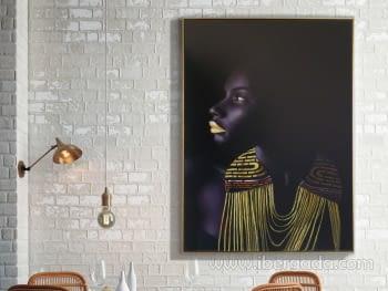 Lienzo Impreso Himba (110x150)