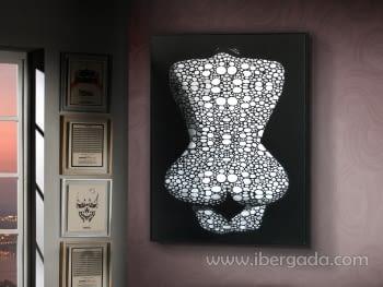 Lienzo Impreso Nude (110x140)