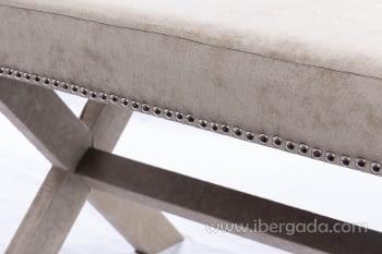 Banqueta Madera/Topo (95x50x50) - 1