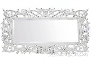 Espejo Barroco Vestidor Blanco (190x101)