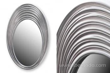 Espejo Ovalado Plata (109x70)