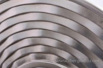 Espejo Redondo Plata (80x80) - 1