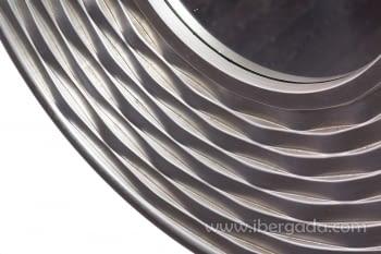 Espejo Redondo Plata (80x80) - 2