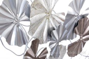 Cuadro de Metal Multicolor/Plata (135x69) - 1