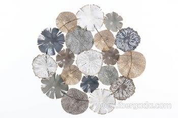 Cuadro de Metal Multicolor (81x81)