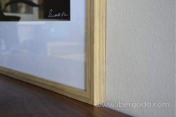 Cuadro Fotografía El Blanco/Negro (97x80) - 1