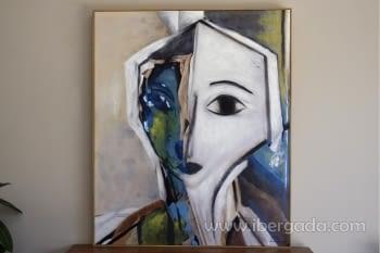 Cuadro Oleo Mujer 1 (120x100)