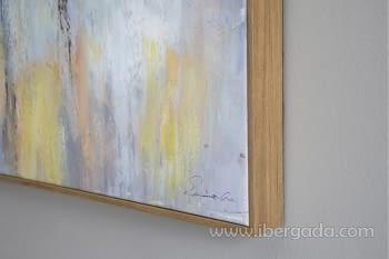 Cuadro Oleo Abstracto Colores/Oro I (150x90) - 3