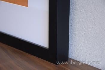 Cuadro Abstracto Oleo Colores/Negro II (80x80) - 2