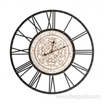 Reloj Pucket Madera/Hierro (100x100)