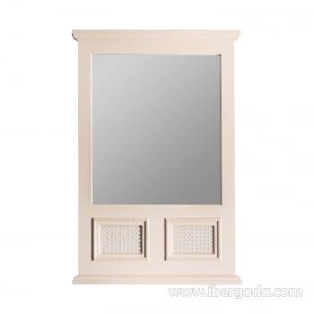 Espejo Varadero Crema (90x60)