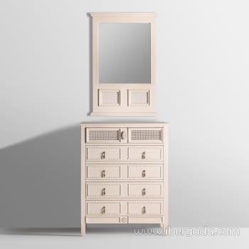 Espejo Varadero Crema (90x60) - 1