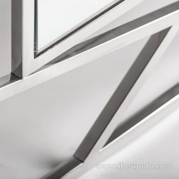 Espejo Manhattan Inoxidable (120x100) - 1