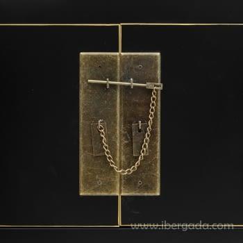 Consola Oriental Negro 6 Cajones 2 Puertas (95x26x91) - 4