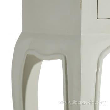 Consola Mindi Taupe 3 Cajones (85x23x80) - 5