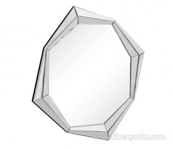 Espejo Cristal Octogonal (76x76)