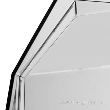 Espejo Cristal Octogonal (76x76) - 1
