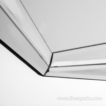 Espejo Cristal Octogonal (76x76) - 3