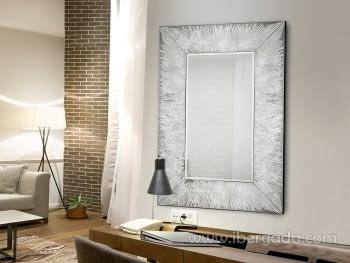 Espejo Aurora Plata (120x80)