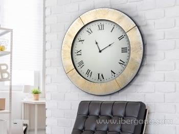 Reloj de Pared  Aurora Oro (60x60)