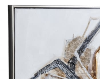 Cuadro Abstracto Cuadrado I (80x80) - 2