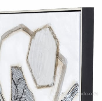 Cuadro Abstracto Cuadrado II (80x80) - 1