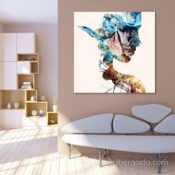Fotografía Silueta Colores (80x80)