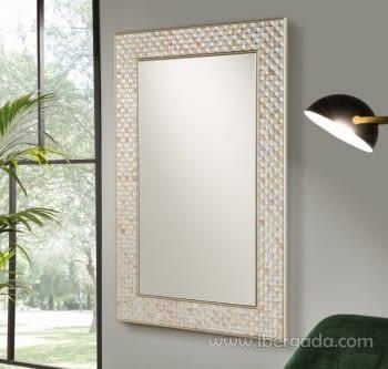 Espejo Nacar Rectangular (120x80)