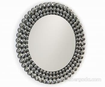 Espejo Esferas Redondo (100x100) - 1