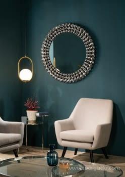 Espejo Esferas Redondo (100x100) - 2