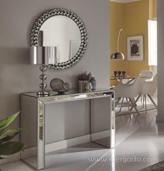 Espejo Esferas Redondo (80X80) - 2